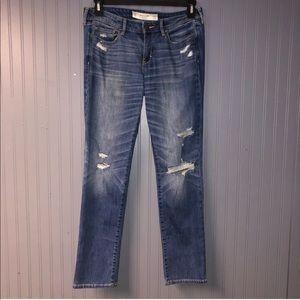 Women's Abercrombie skinny jeans size 10 short